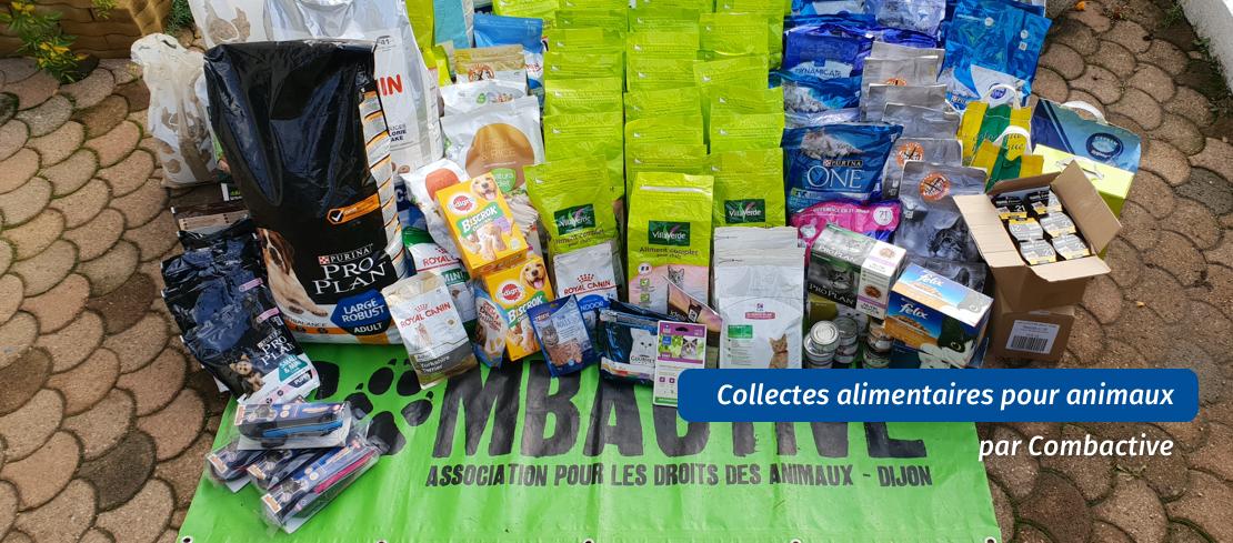 Collecte alimentaire et distribution aux animaux dans le besoin