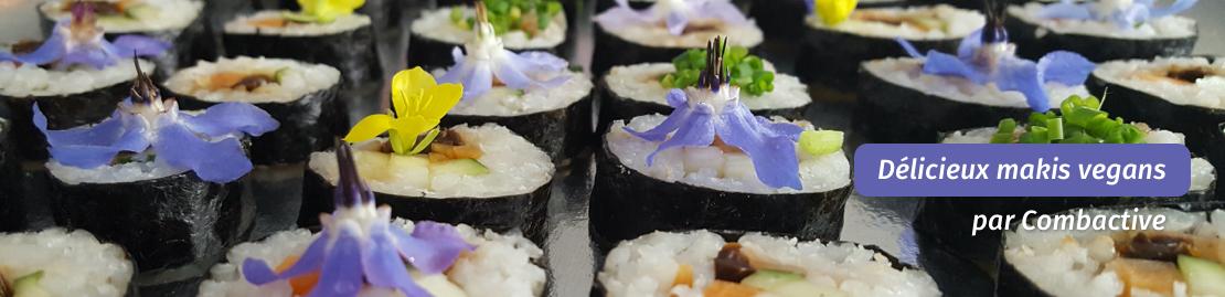 Combactive vous livre vos repas chauds et buffets végétaliens